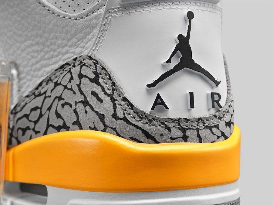 Air Jordan 3 Laser Orange Heel