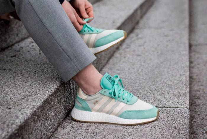Adidas Iniki Runner Boost Easy Green 3