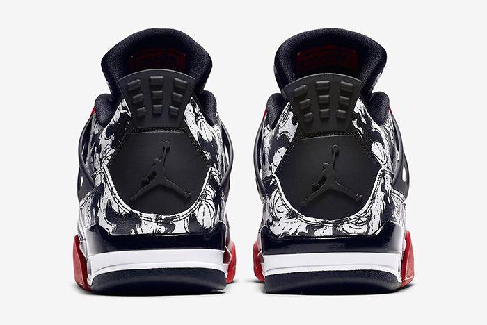 Air Jordan 4 Tattoo Official 4