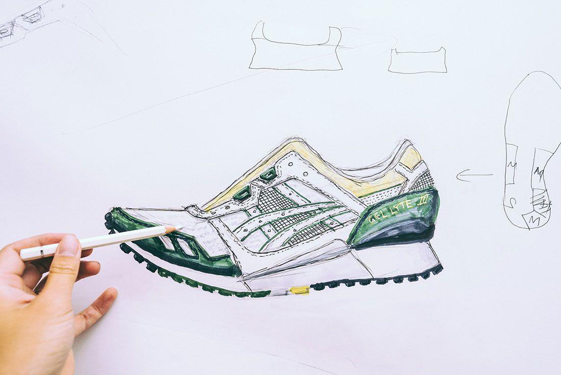 Asics Gel Lyte Iii 30Th Anniversary Sneaker Sketching Masterclass Sketch