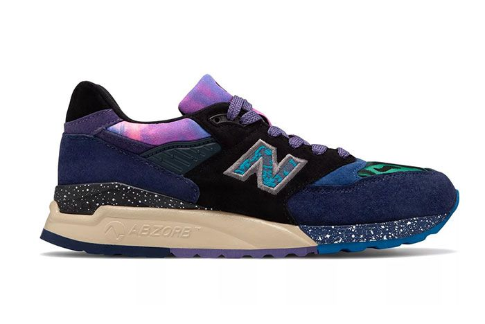 New Balance Made In Us 998 Blue Green Galaxy Colorway Release 1 Side