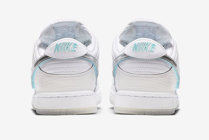 Diamond Supply Co Nike Sb Dunk Low Tiffany White Official 4