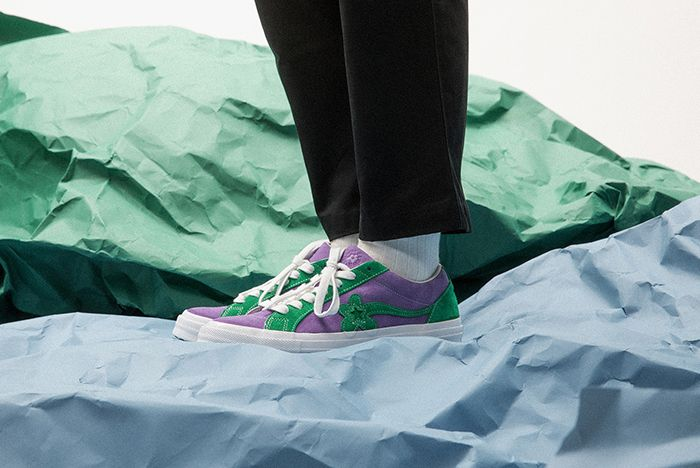 Golf Le Fleur Converse Tyler The Creator Two Tone Uno Closer Look 07 Sneaker Freaker