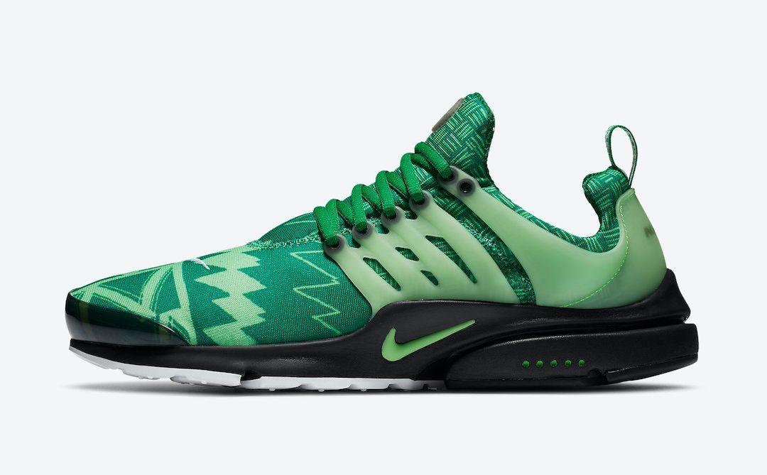 Nike Air Presto Naija Left