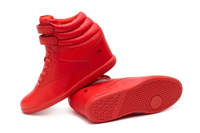 Reebok Alicia Keys Freestyle Hi Red Profile 1