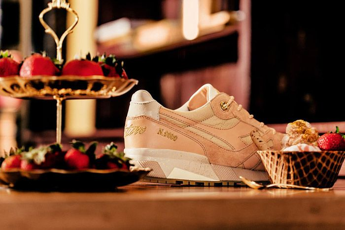 Feature Diadora N9000 Strawberry Gelato 8