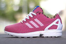 Adidas Originals Zx Flux Weave Vivid Berry Thumb