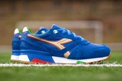 Packer Shoes Diadora N9000 Azzurri Thumb