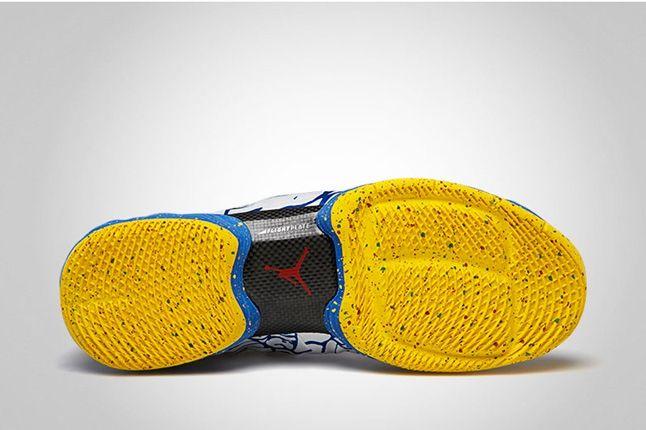 Air Jordan Xx8 Gymred Photoblu Sole Profile 1