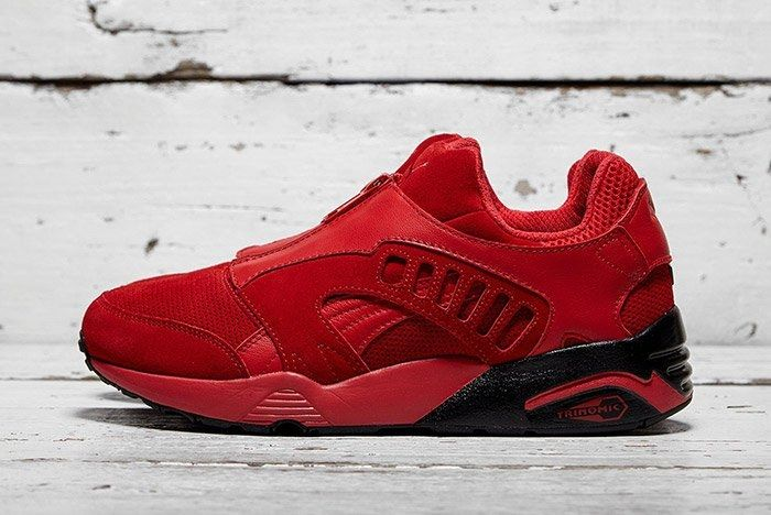 Puma Trinomic Zip Red 1