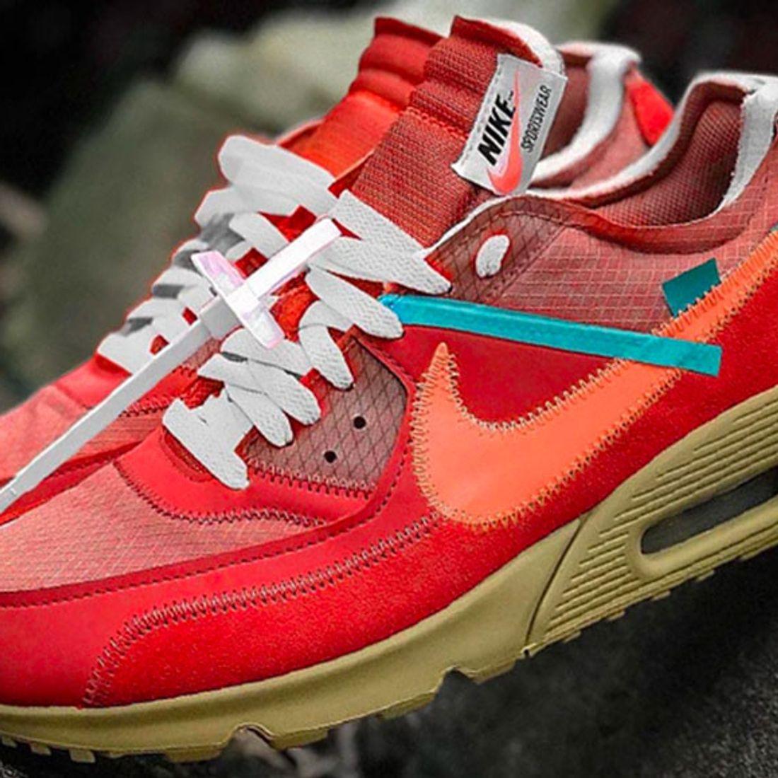 Rumoured Off White X Nike Air Max 90 University Red Sneaker