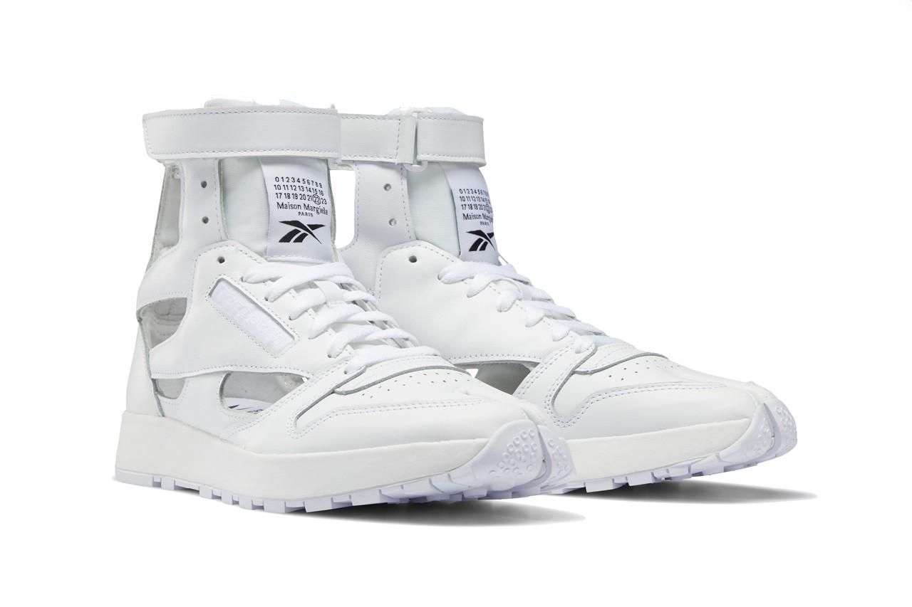 Maison Margiela x Reebok Classic Leather Tabi White
