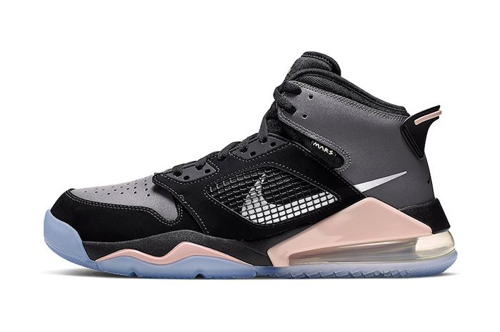 Jordan Mars 270 Grey Black Pink Cd7070 002 Release Date Lateral