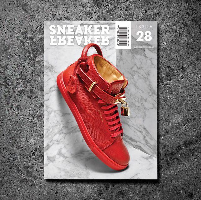 Buscemi Issue 28 Cover Concrete