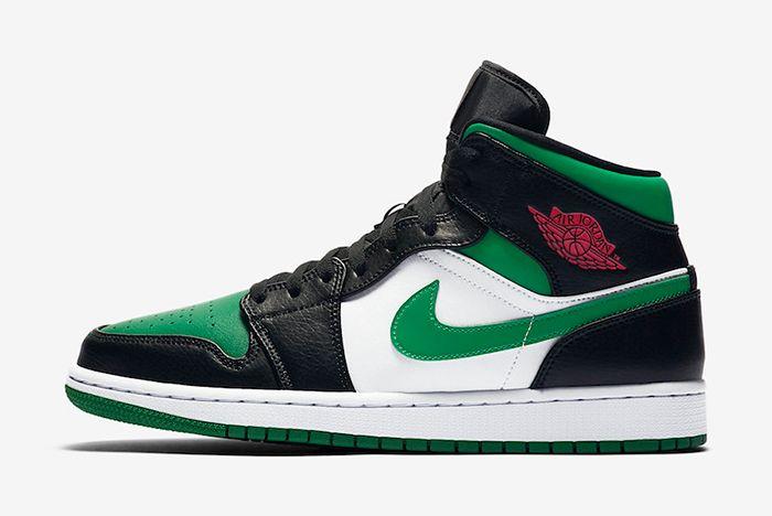 Air Jordan 1 Pine Green Left