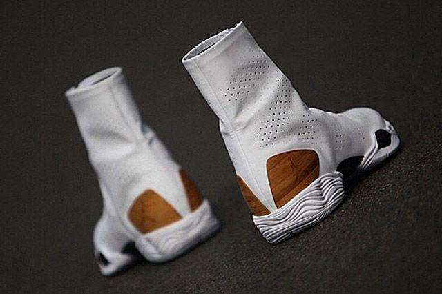 Air Jordan 28 Wood Heel Perspective