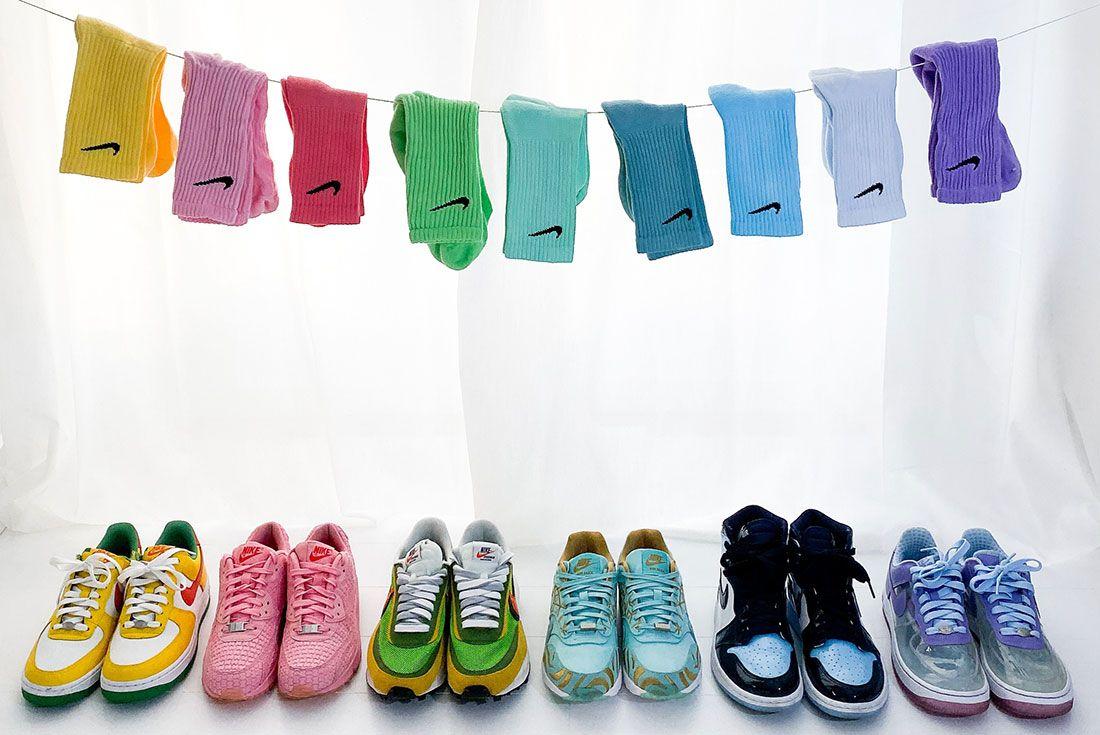 Nike Female Sneakers Nike Clothesline Helsoe