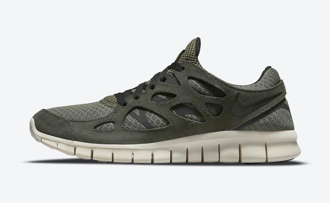 Nike Free Run 2 Sequoia 537732-305