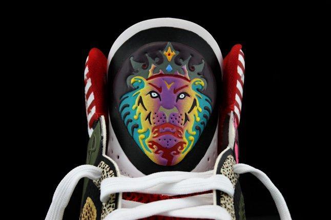 Revive Customs Nike Lebron8 Ps Rammellzee Tongue Detail 1