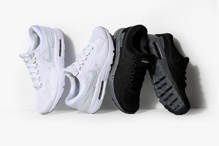 Nike Air Max Zero Black White 1