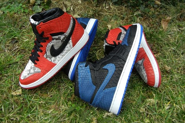 Jfb Customs Snakeskin Aj1 Group Hero 1