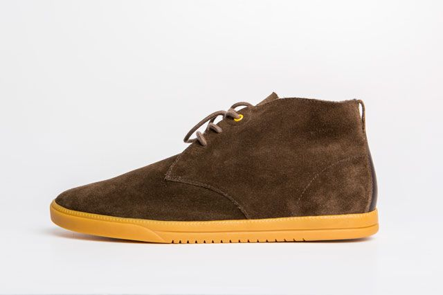 Clae Strayhorn Unlined Umber Sideview