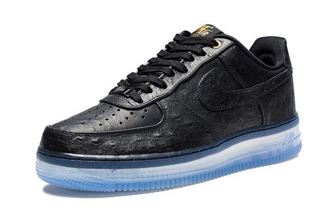 Nike Air Force 1 Cmft Black Ostrich