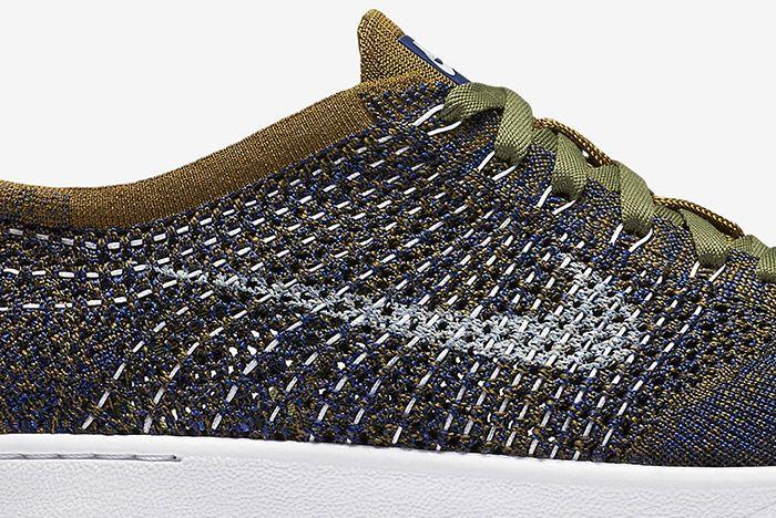 Nike Wmns Tennis Classic Ultra Flyknit Olive Green Blue 1