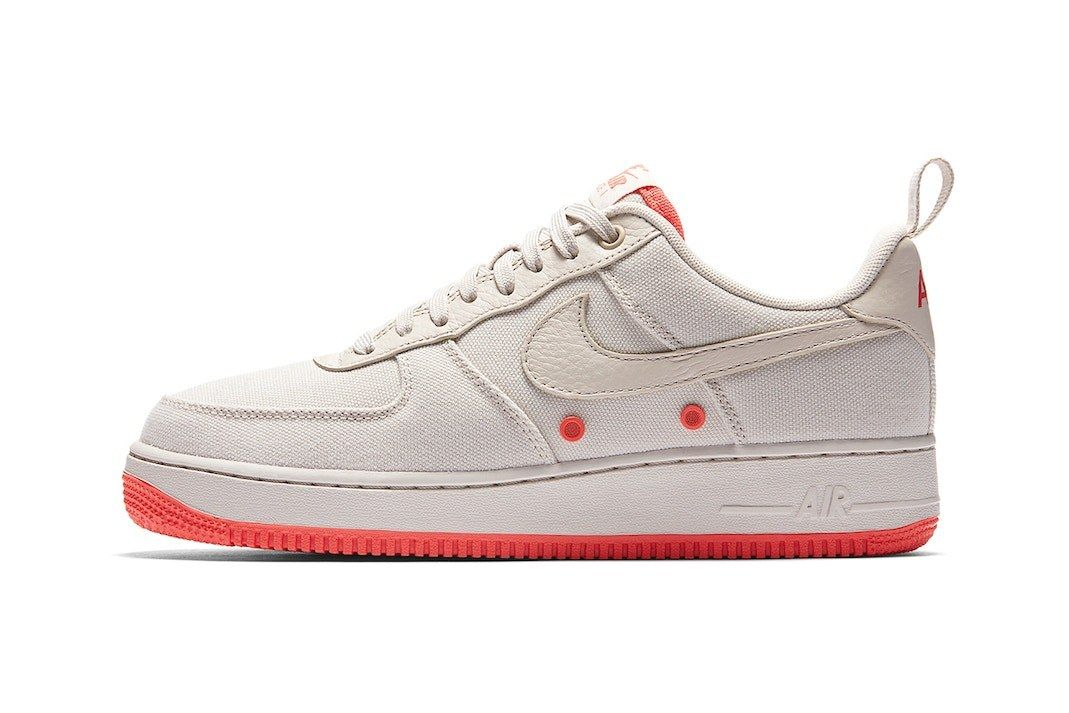 Nike Air Force 1 Low Canvas Desert Sand Release 3