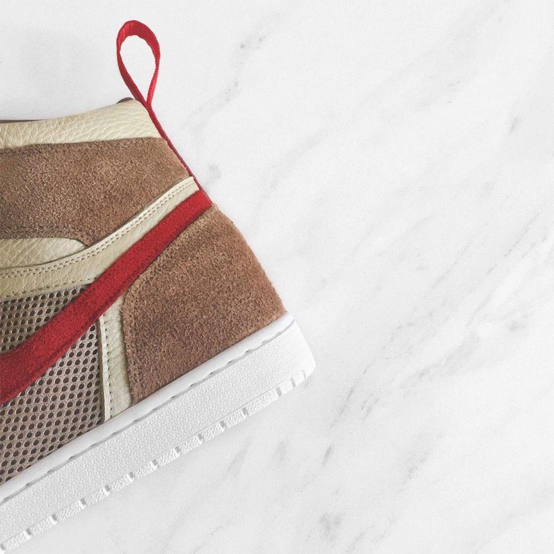 Chase Shiel X Fiammastudios Tom Sachs Nike Mars Yard Shoe Air Jordan 1 Sneaker Freaker 3
