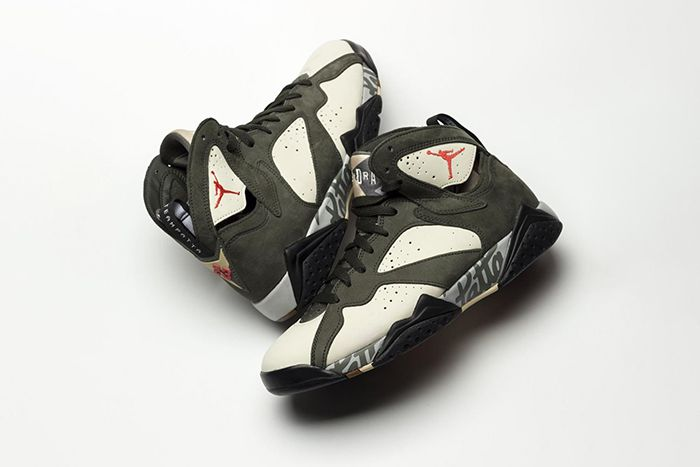 Patta Air Jordan 7 Og Sp Icicle First Look At3375 100 Release Date Pair