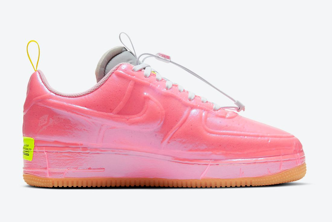 Nike Air Force 1 Experimental 'Racer Pink' official