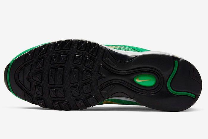 Nike Air Max 97 Lucky Green Ci3708 300 Sole