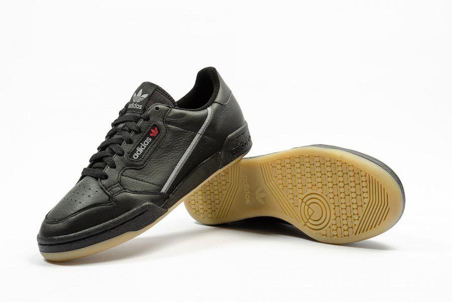 Adidas Continental 80 Black Gum Bd7797 4