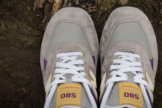 New Balance 580 Lalakers Toe Detail 1