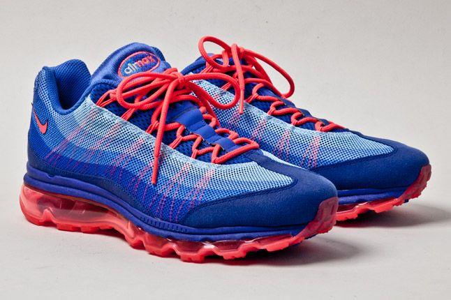 Nike Air Max 95 Wyn Blue Orange 2 1