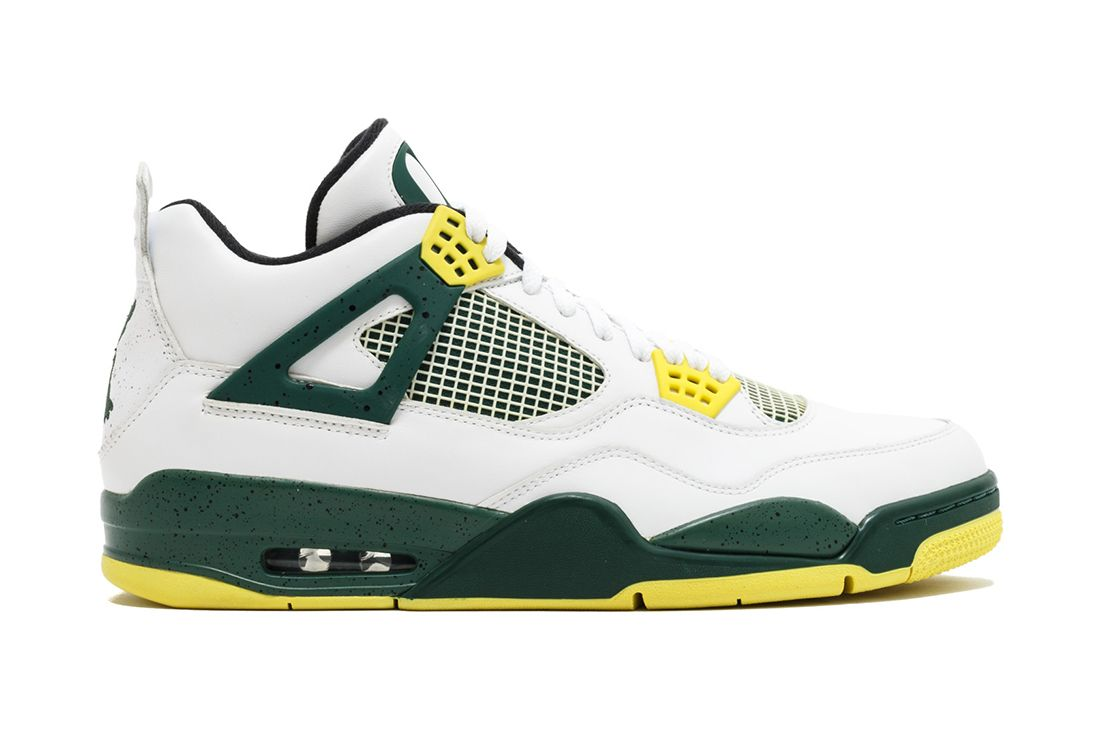 Oregon Duckman Lateral Air Jordan 4 Best Greatest Ever All Time Feature