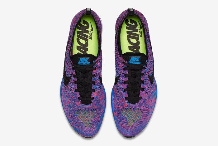 Nike Flyknit Racer Pink Flash 4