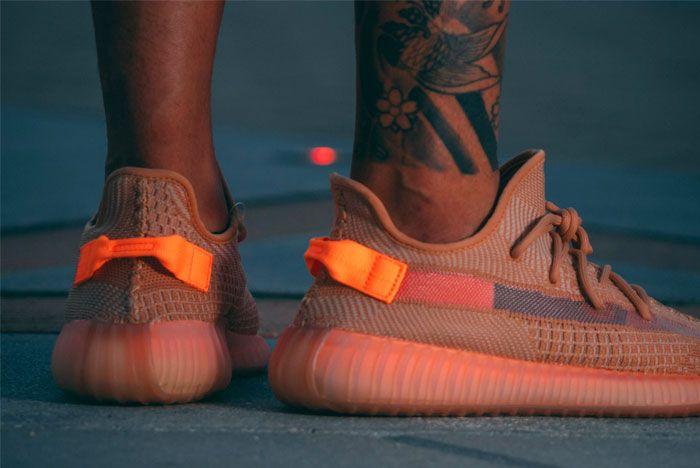 Sneak Peek Adidas Yeezy Boost 350 Clay Heel