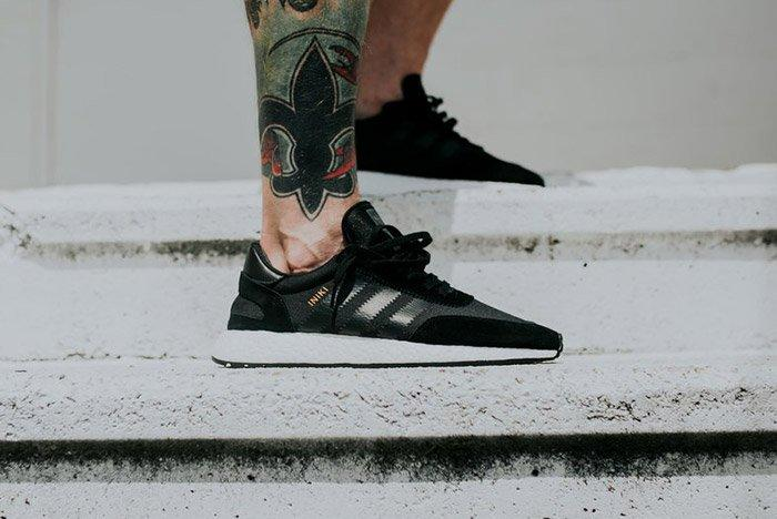 Adidas Iniki Runner Boost Core Black 7