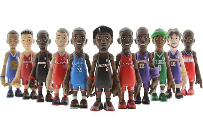 Mindstyle Coolrain Nba Series 2 Vinyl Toys Complete Standing 1