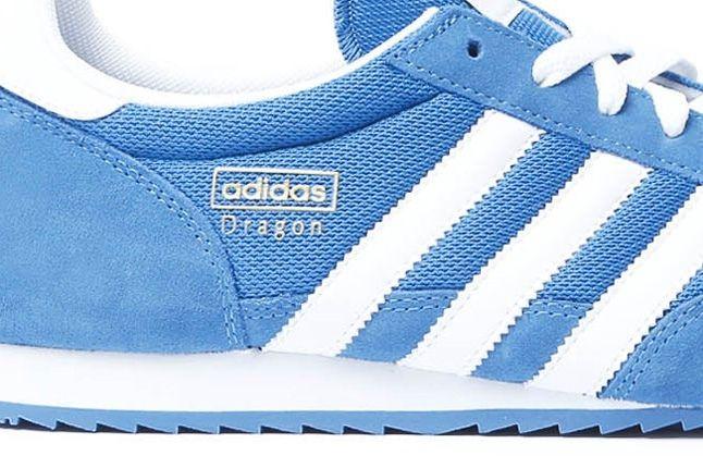 Adidas Dragon Pool Blue Midfoot Detail 1