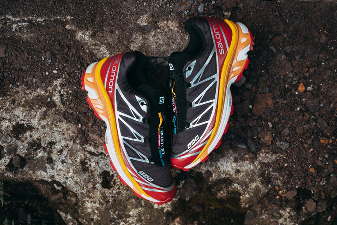 Salomon XT-6 Red Ochre