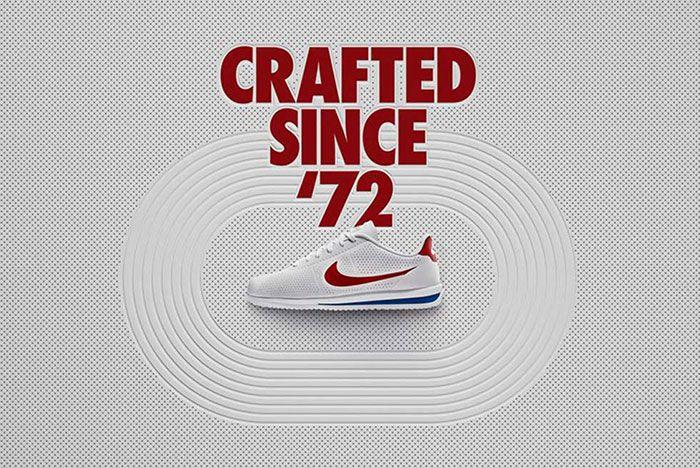 Nike Cortez Ultra Moire Og White Varsity Blue Red 2