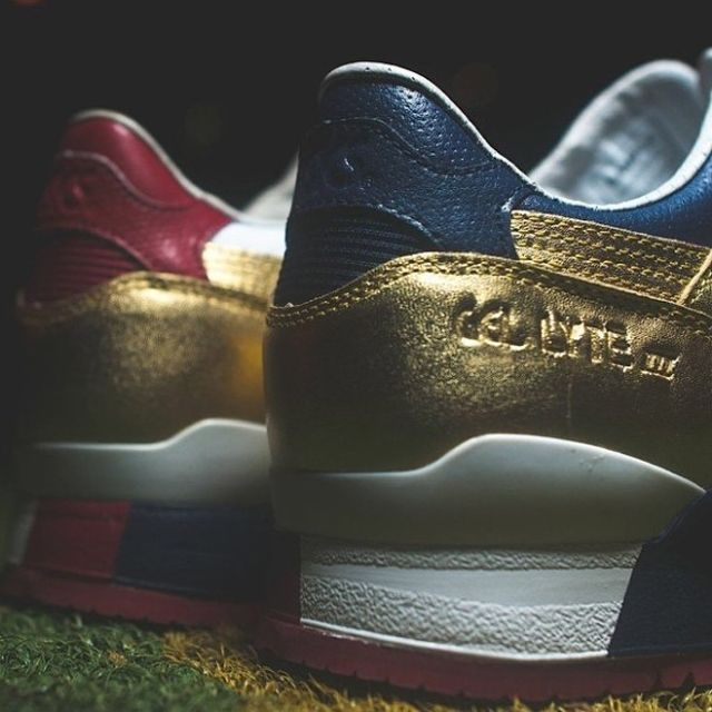 Ronnie Fieg X Asics Gel Lyte Iii Metallic Gold