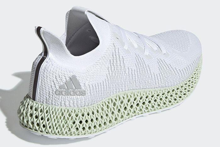 Adidas Alphaedge 4D White 3
