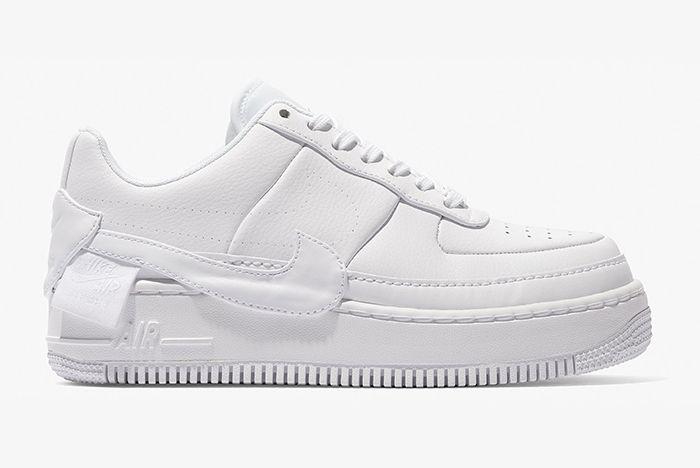 Nike Air Force 1 Jester Triple White Black 1