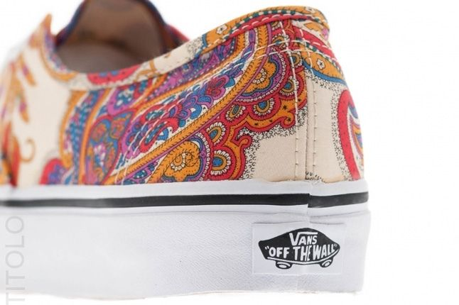 Vans Liberty Authentic Low White Heel Detail 1