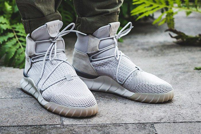 Adidas Tubular X 2 0 Primeknit Grey One 3