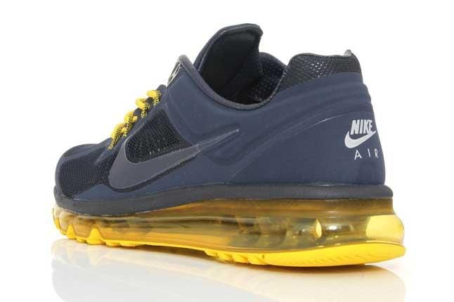 Nike Air Max 2013 Amthracite Yellow Heel 1
